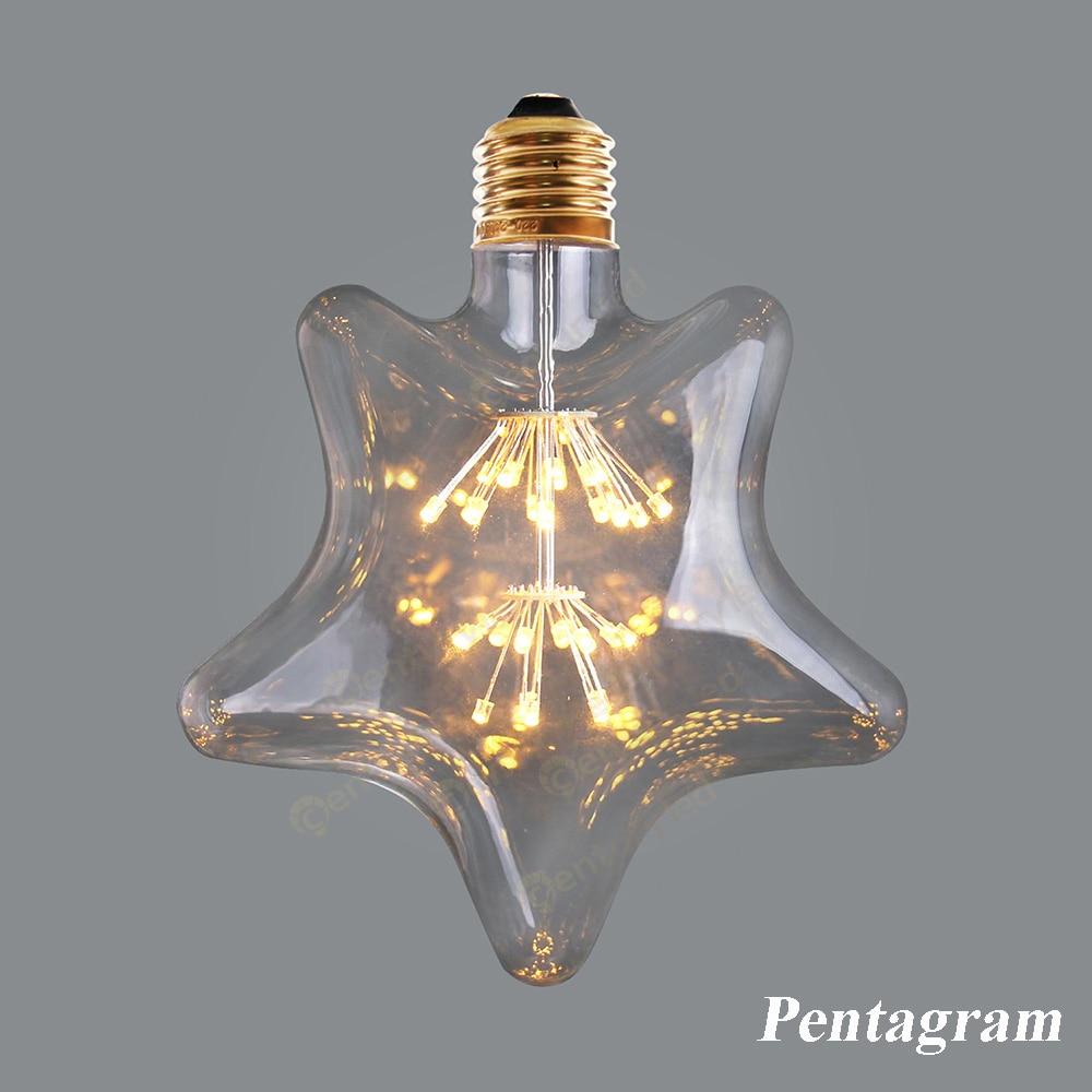 Star  Sky lamp  LED Light Bulb,Fireworks Starry,Ultra warm 2200K,Decorative for Pendant Lamp,Dimmable электрокотел savitr star ultra 15квт 380в