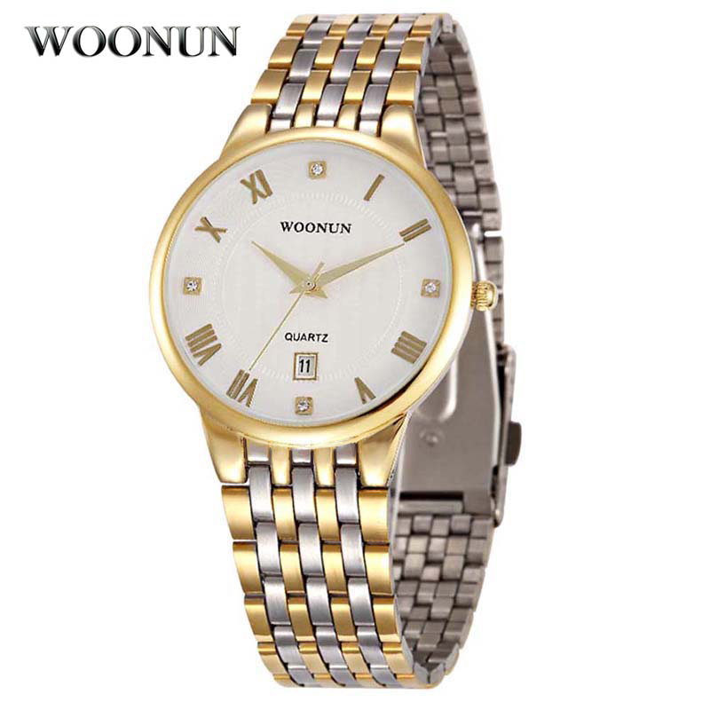 mens gold watches page 13 michael kors premium woonun top brand luxury gold watch men stainless steel quartz wrist watches for men luxury dress men watches relogio masculino