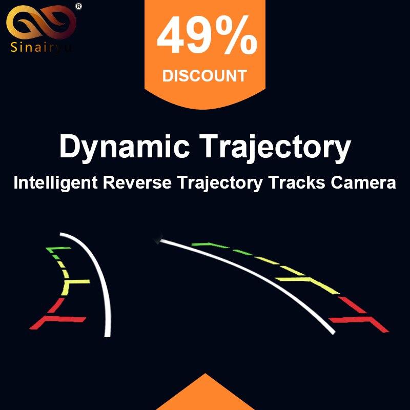 Intelligent Dynamic Trajectory Tracks Rear View font b Camera b font HD CCD Reverse Backup font
