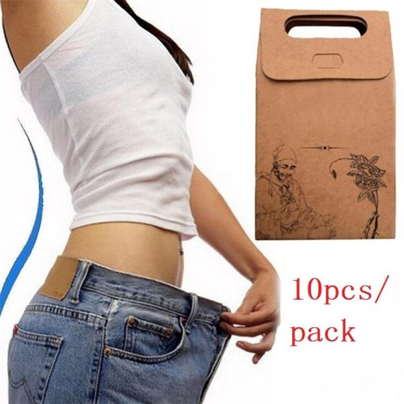 10 20 30pcs Traditional Chinese Medicine Slimming Navel Sticker Slim Patch Lose Weight Fat Burning adipose Slimming Patch in Massage Relaxation from Beauty Health
