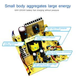 Image 4 - ANJING AJ 618E דופק תיקון סוללה מטען 130 V 250 V 200AH 12V 24V מלא אוטומטית סוללה מטען אופנוע רכב מהיר טעינה