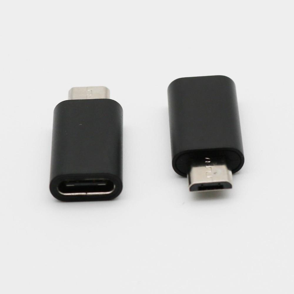 20x Micro USB mâle à USB 3.1 Type C prise femelle Android téléphone convertisseur de charge adaptateur Micro mâle à Type C femelle