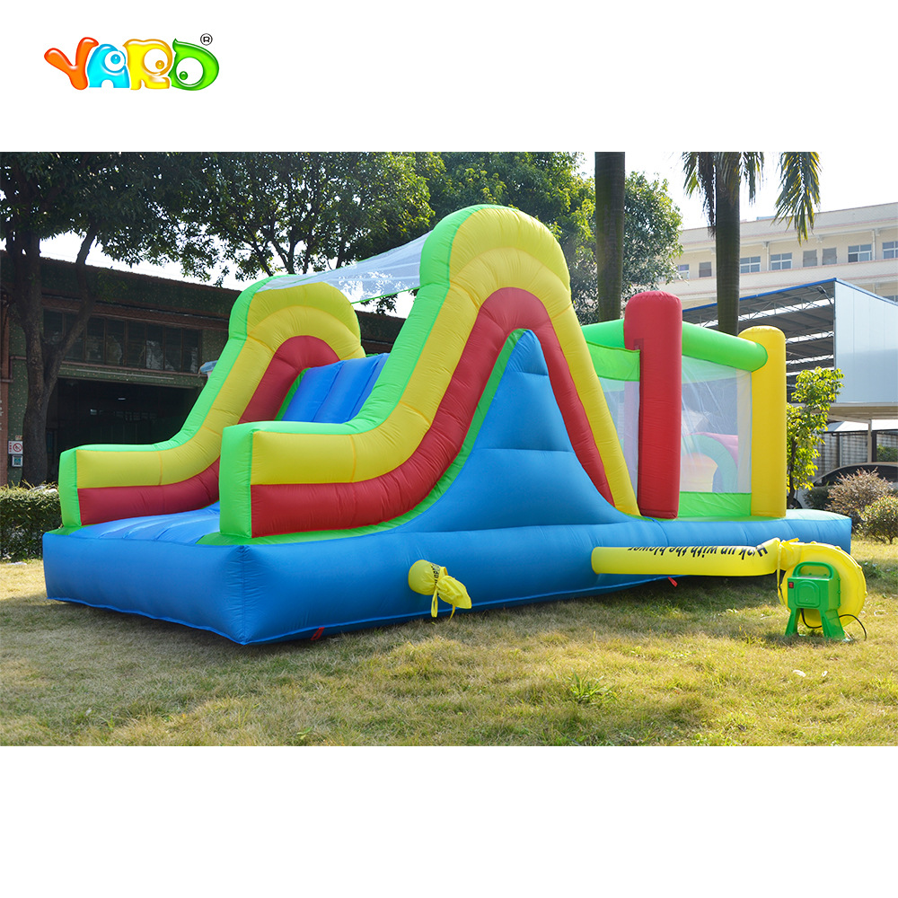 YARD Big 5 in 1 Inflatable Bouncer Castle Obstacle Slide Inflatable Trampoline Bouncy House Christmas Gift Ship via Express Door yard inflatable castle bouncer games for kids combo jumping trampoline bouncy castle christmas gift ship express door to door page 7 page 5 page 5 page 6