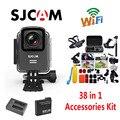 Ursprüngliche SJCAM M20 Wifi Wasserdichte Sport Action Kamera + Ladegerät + Extra 1 stücke Batterie + 38 Stücke Zubehör Kit