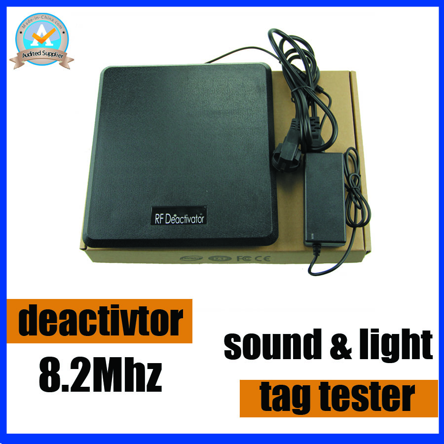 Deactivator,Tag tester,New technology RF8.2Mhz eas deactivator decoding machine 1set with 2 function into 1