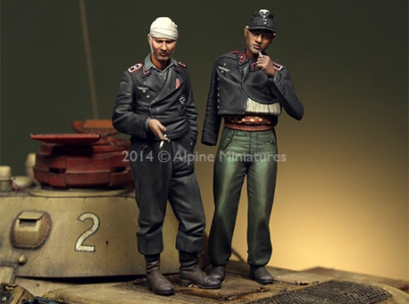 1:35    German Panzer Crew Set