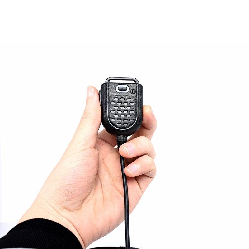 Vente chaude 2 Broches PTT Président Mic pour Kenwood BAOFENG UV-5R BF-888S Retevis H777 RT3 TYT PUXING QUSHENG Jambon Radio Talkie Walkie