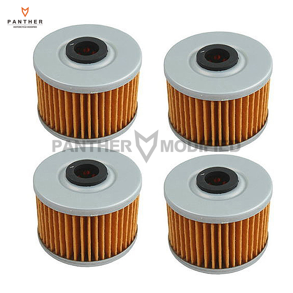 4 pcs motorcycle engine oil filters case for kawasaki for Case of motor oil prices