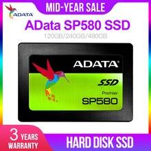 AData SP580 SSD 120 ГБ SATA 3 2,5 дюйма Внутренний твердотельный накопитель HDD жесткий диск SSD ноутбук PC 120G 240 ГБ 480 ГБ ноутбук