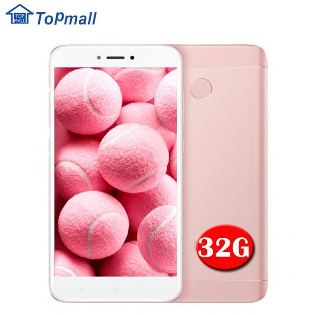 """Оригинальный мобильный телефон Xiaomi Redmi 4x3 ГБ Оперативная память 32 ГБ Встроенная память Snapdragon 435 отпечатков пальцев ID 4100 мАч 5.0"""" из Металла Средства ухода за кожей Google магазине"""