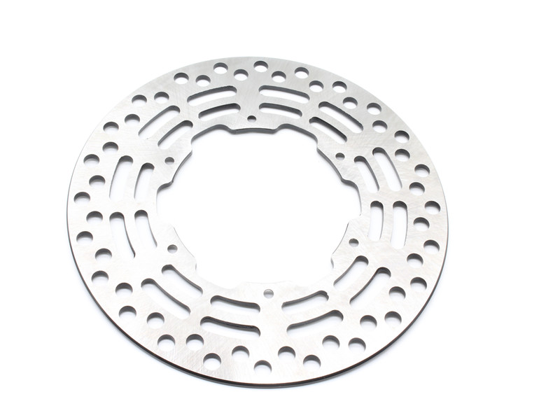 Motorcycle Drilled Slotted Front Brake Disc Rotor For Y A