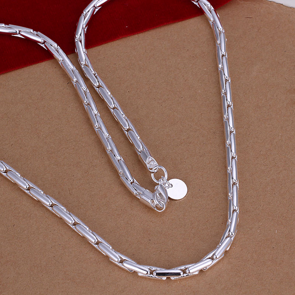 hi-quality 925 sterling silver jewelry statement luxury fine silver chain 4mm wide discounted men long necklace CN059