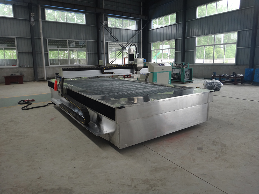 5axis Cnc Water Jet Cutting Machine For Granite Marble