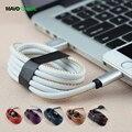 Couro de alta qualidade 5 v 2a velocidade de carregamento charger cable para iphone 5/6 ipad ipod cabel para iphone oplader kabel para iphone 6 5