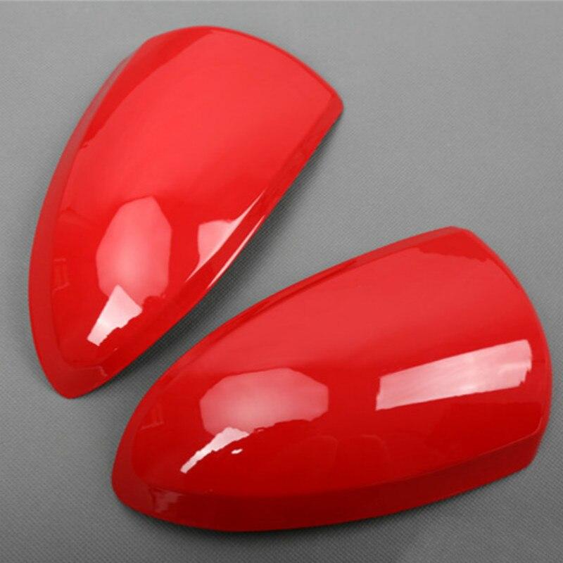 Pour mercedes-benz SMART 09-14 rétroviseur garniture Shell, housse de protection miroir Shell voiture autocollants 3D voiture style accessoires