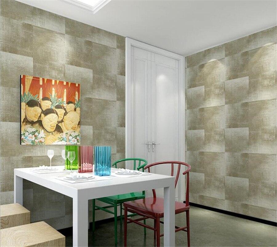 Papier peint 3D rétro grain de bois motif pierre design papier peint style vintage papier de parede pour la décoration de la maison tapeten Beibehang