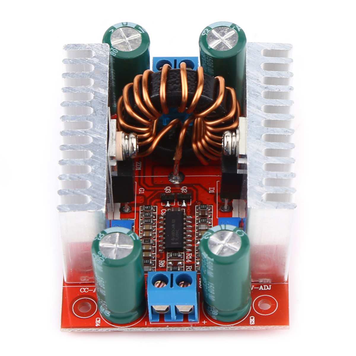 400W DC-DC Step-up Boost Converter Constant Current Power Supply Module LED Driver Step Up Voltage Module 67 x 48 x 28mm цена