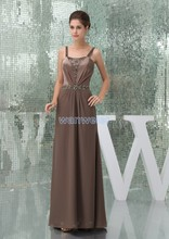 free shipping dresses new fashion 2013 evening hot seller brides maid plus size beading elie saab formal gowns