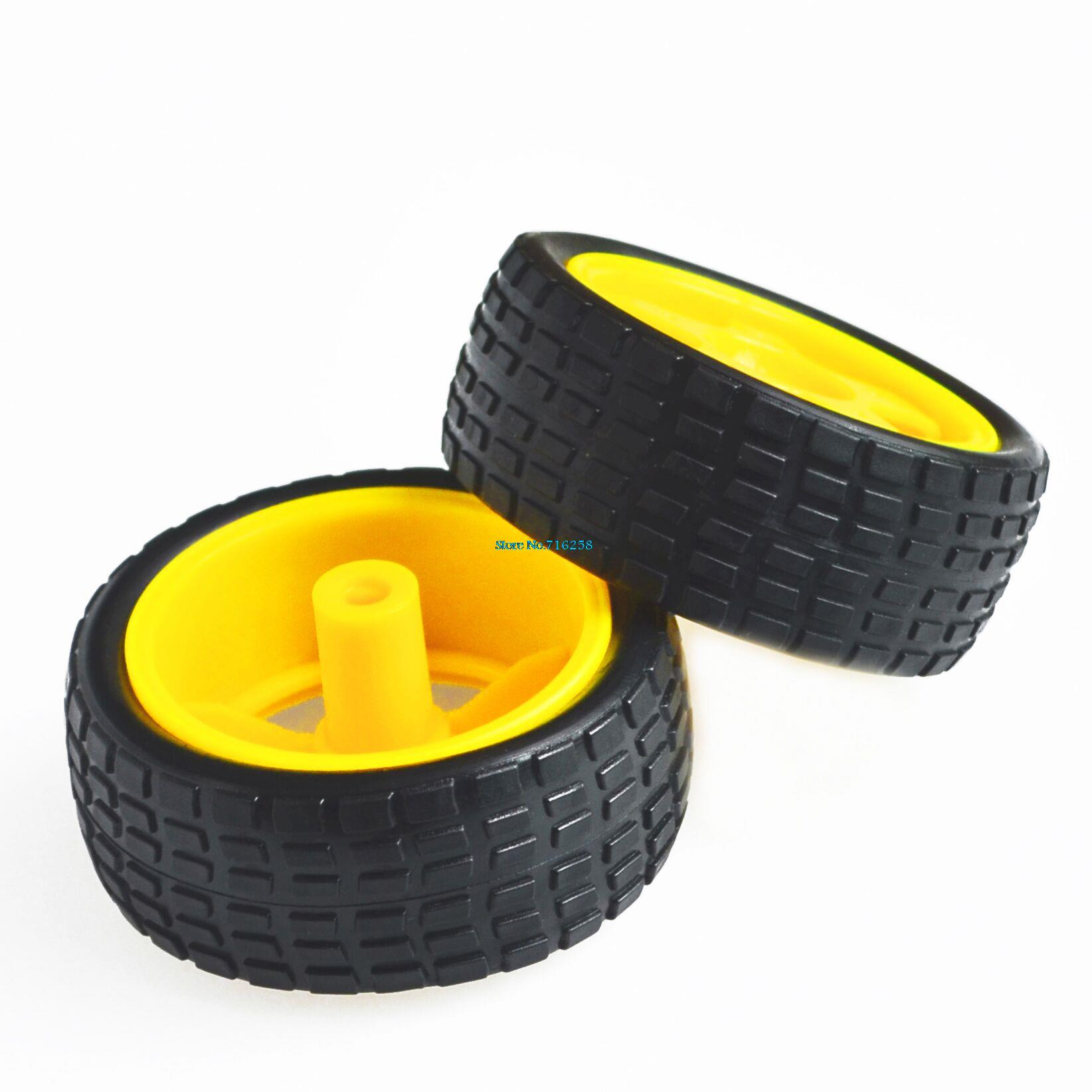 Supporting Wheels Smart Car Chassis,Tire, Robot Car Wheels