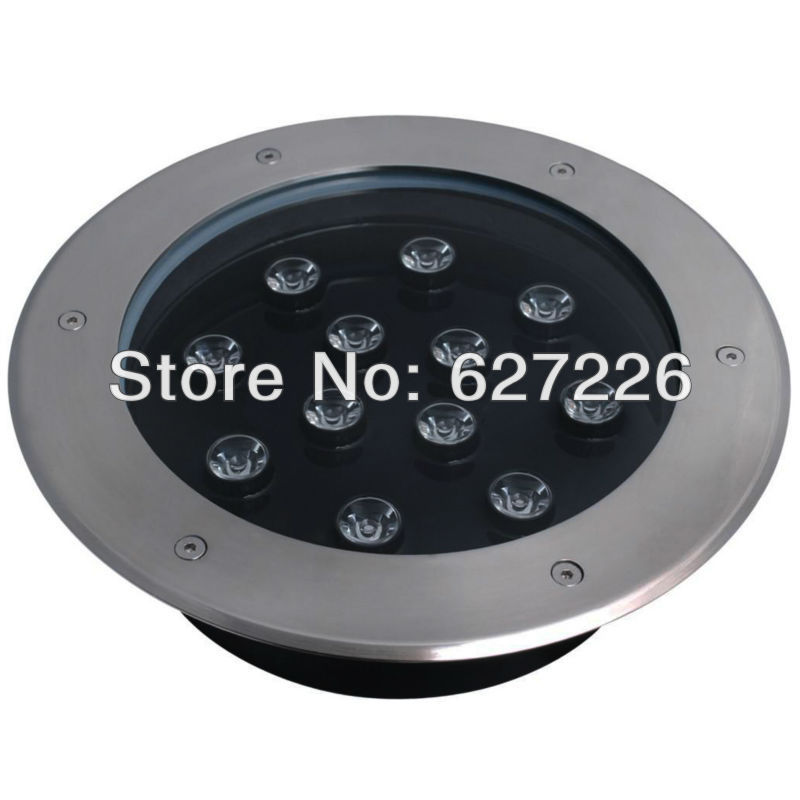 12W LED underground lamp,AC85-265V IP68 waterproof,2 years warranty,CE&ROHS,led underground light hot free shipping 5w led underground lamp dc12v ip68 waterproof 2 years warranty ce
