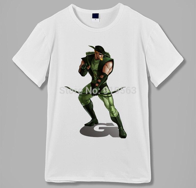 green arrow raglan sleeves baseball style vintage tee shirt comic hero men women size