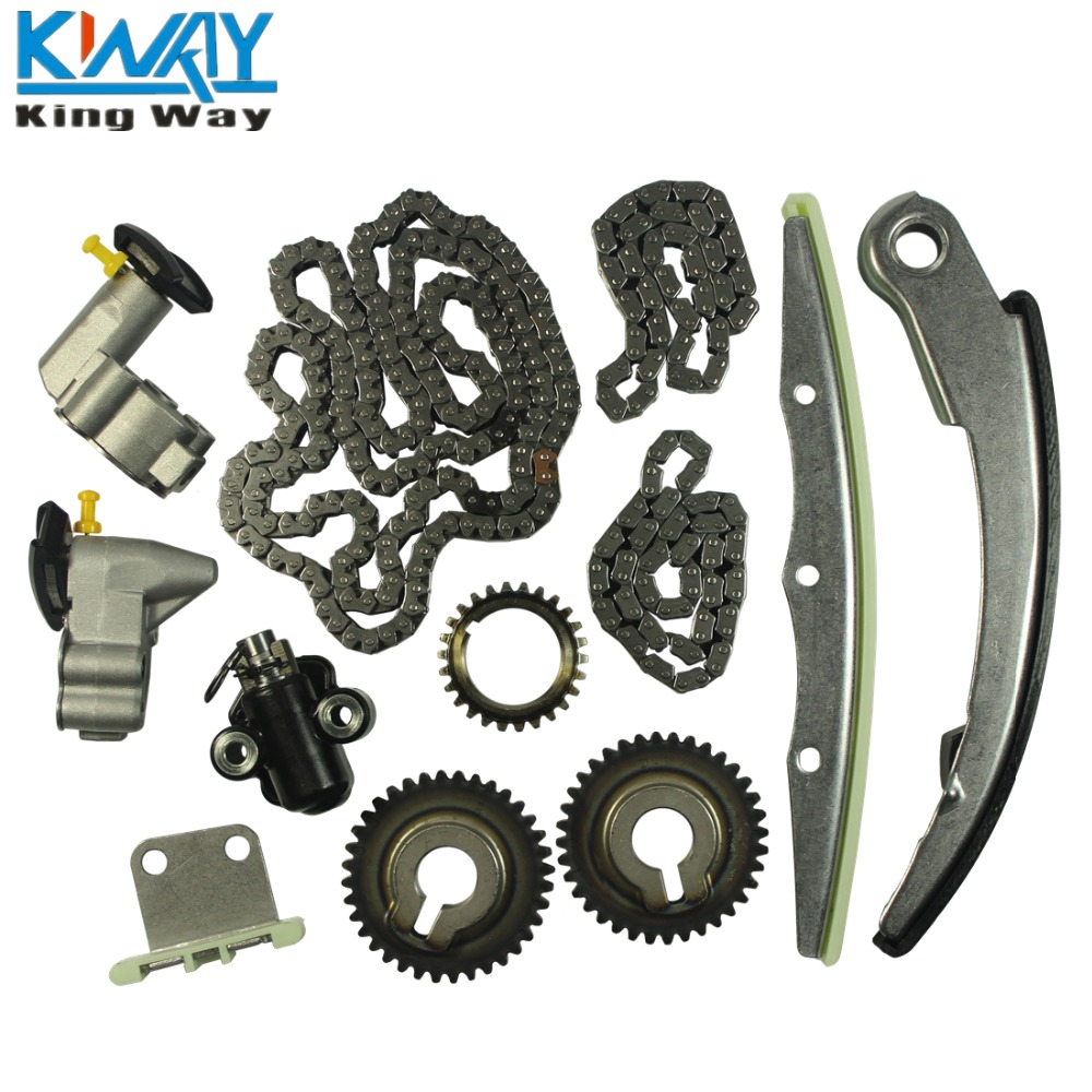 Free shipping king way timing chain kit for 04 09 nissan altima maxima