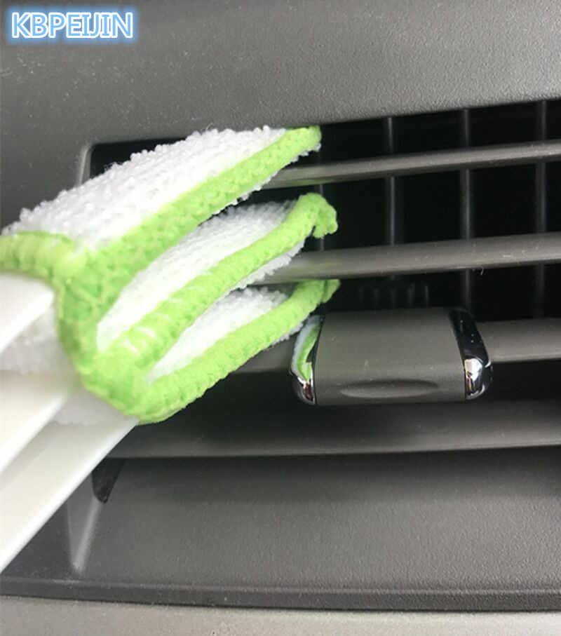 รถเครื่องปรับอากาศVentผ้าม่านสะอาดสติ๊กเกอร์แปรงสำหรับไครสเลอร์300c 300 sebring pt cruiserทาวน์ประเทศอุปกรณ์