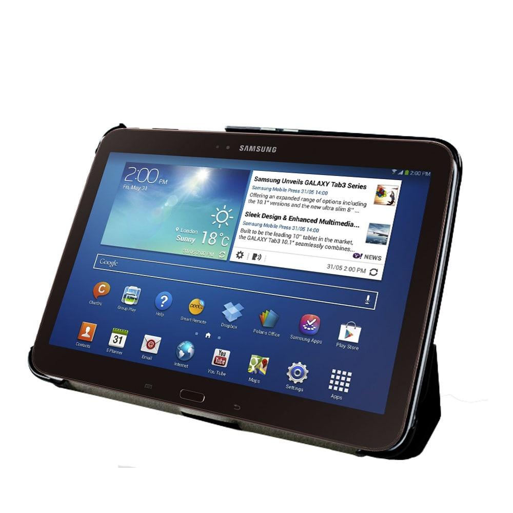 GT P5200 P5210 P5220 ultrathin õhukesest fikseeritav nahast - Tahvelarvutite tarvikud - Foto 4