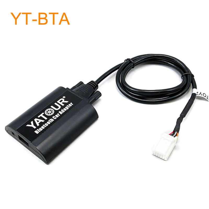 Yatour BTA Car Bluetooth Adapter Kit for Head Unit Radio for Lexus GX470 LS460 LX570 RX300 RX300 RX330 RX350 RX400H SC430 1pcs canbus error free t15 car led backup reverse lights lamps for lexus ct es gs gx is is f ls lx sc rx is250 rx300 is350 is300