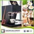 Impresora de bebidas de café de arte impresora de alimentos impresora de Chocolate con suministro de fábrica de tinta de alimentos con CE