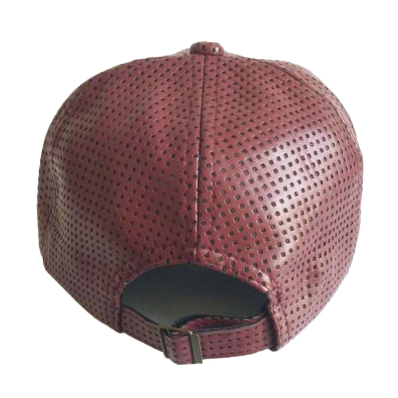 New Autumn Winter PU Leather Caps Baseball Cap Biker Trucker casquette  Snapback Hats For Men Women Hats And Caps-in Baseball Caps from Apparel  Accessories ... 2fb97c6ed3f0