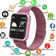 New Fashion Men Smartwatch Message Reminder Smart Watches Waterproof Watch Heart Rate Tracker Sport For Women