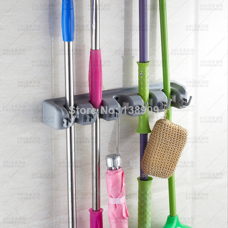 Free shipping <font><b>100</b></font> plastic mop frame multifunctional mop frame for bathroom