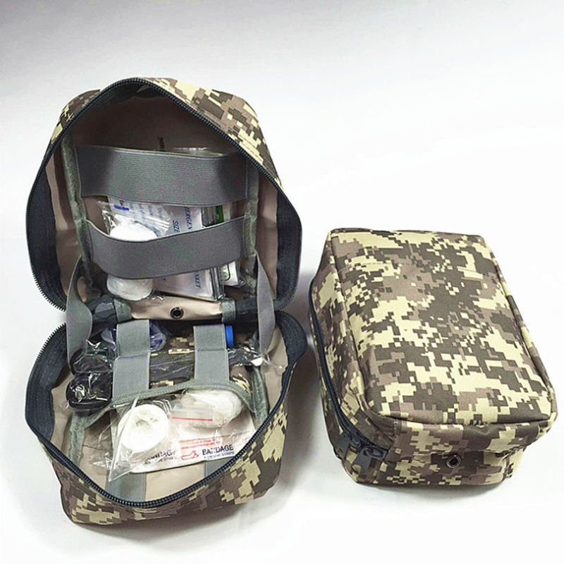 90 Emergency Supplies Medispor Outdoor First Aid Kits Camouflage Green Bag Car&Family&Travels Peace Of Mind купить