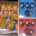 Demoniacal fit suit for SHF SSJ Red God Vegeta Accessories custom headsculpt head and hair set blue and red