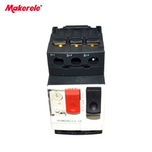 GV2-ME08 Electric Motor Circuit Breaker with Thermal Magnetic Protection Current 2.5-4A Beakers