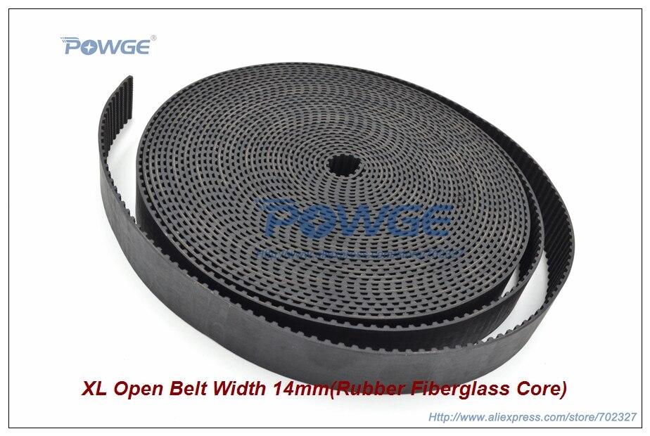 5Meters XL-14 Open Synchronous belt XL Timing belt width 14mm Trapezoid Rubber with fiberglass XL Open Belt Pulley sisjuly фуксин xl