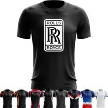9c44d890 Sport Quick Dry Running Shirts Basketball Soccer Training T shirt New Rolls  Royce Car Sport logo