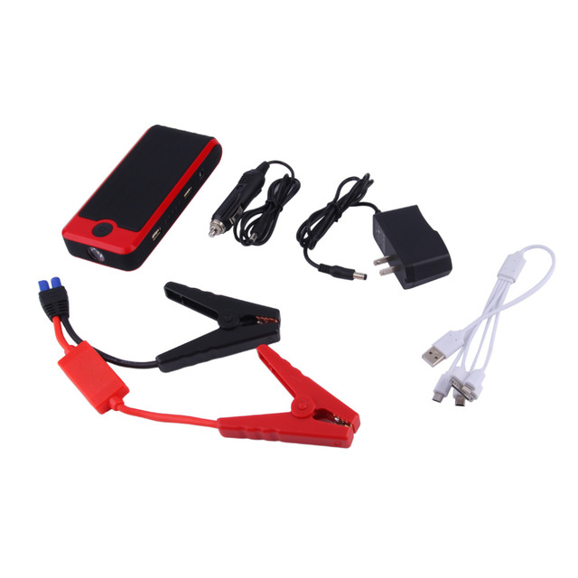 2016 New Capacity 9900mAh Car Jump Starter Mini Portable Emergency Battery Charger for Petrol & Diesel Car
