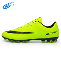 ZHENZU Brand Outdoor Men Professional Soccer Shoes Breathable Artificial Grass Ground(AG) Anti Slippery Training Football Boots