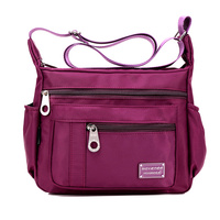 Women Men Nylon Waterproof Bags Casual Outdoor Sports Lightweight Shoulder Bags Crossbody Bags