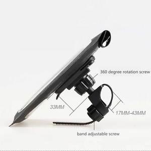 Image 3 - Waterdichte Fiets Houder voor iPhone Samsung HTC Hoge Kwaliteit Telefoon Houder Universele Mobiele Telefoon 360 Graden Rotatie