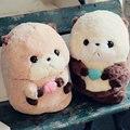 35/45 см Симпатичные жира выдра выдра Плюшевые Игрушки пухлые Плюшевые подушки Подушки ткань кукла мягкие игрушки день рождения подарок для Ребенка