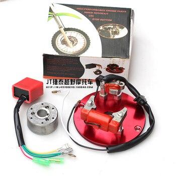 Motor horizontal para motocicleta todoterreno 110cc, 125cc, 140cc, reajuste, generador de rendimiento de magneto, rotor, estátor, Moto dirt pit monkey bike