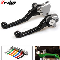 CNC Brake Clutch Lever Motorcycle One Pair CNC Pivot Brake Clutch Levers For Ktm 250SX F