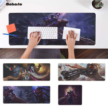Babaite Vintage Cool league of legend jhin Laptop Computer Mousepad Free Shipping Large Mouse Pad Keyboards Mat