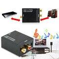 Nueva digital al convertidor audio análogo adaptador adaptador digital óptica coaxial rca toslink convertidor de señal de audio analógico rca