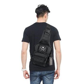 Тактический Molle Организатор EDC Боевая Низкопрофильная сумка охотничий военный Пейнтбольный подсумок открытый мужской наплечный рюкзак