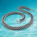 Envío libre!!! hombres marca de joyería nuevo collar de cadena de plata Tailandés de la moda de los hombres, maneras antiguas del Restablecimiento de la joyería