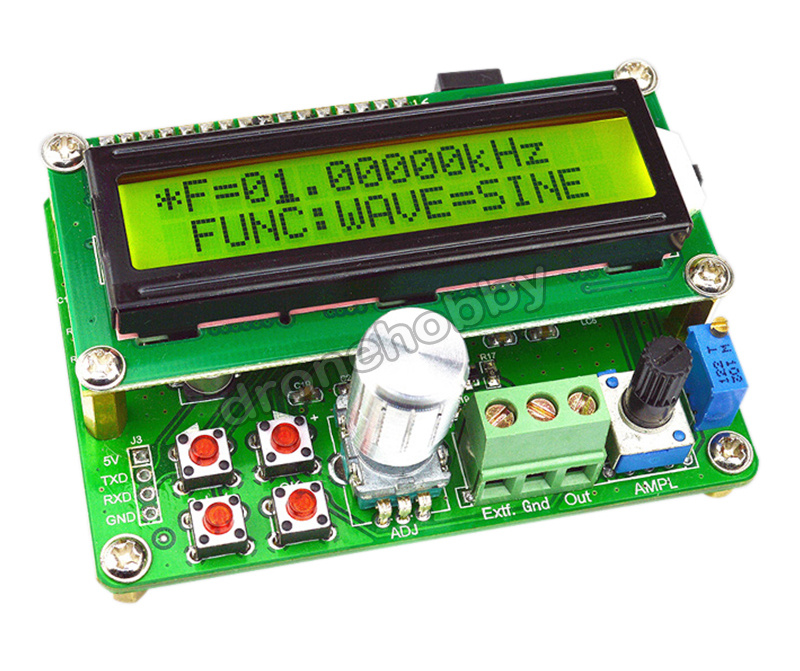 FreeShipping TD FYE050 power type arbitrary waveform DDS function signal source generator module / frequency meter freeshipping new l614f power module